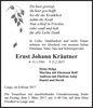 Ernst Johann Kräutner