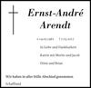 Ernst-André Arendt