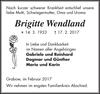 Brigitte Wendland