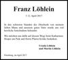 Franz Löhlein
