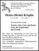 Heinz Heini Kröplin