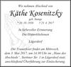 Käthe Kosenitzky