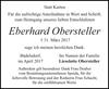 Eberhard Obersteller