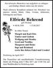 Elfriede Behrend